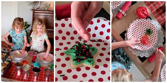 Christmas Cutout Cookie Decorating Party for the kiddos- tips for hosting! {Reality Daydream}
