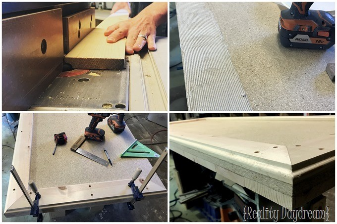 Cutting Mounting Board for Apron{Reality Daydream}