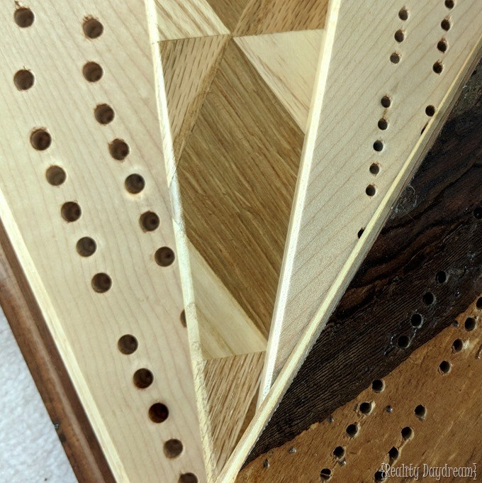 DIY Cribbage Board Tutorial How-to #game #handmade #homemade #giftidea {Reality Daydream}