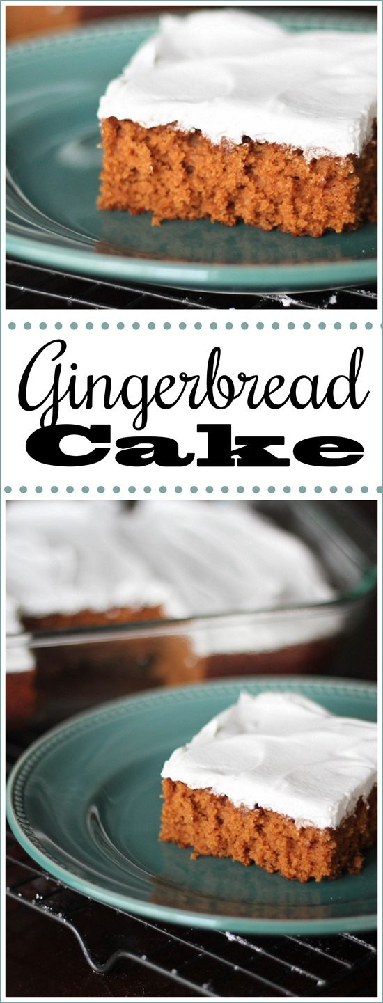 Gingerbread Sheet Cake Recipe with Cinnamon Whipped Cream