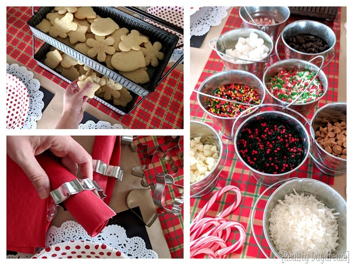 Hosting a Christmas Cut Out Cookie Decorating Party! {Reality Daydream}