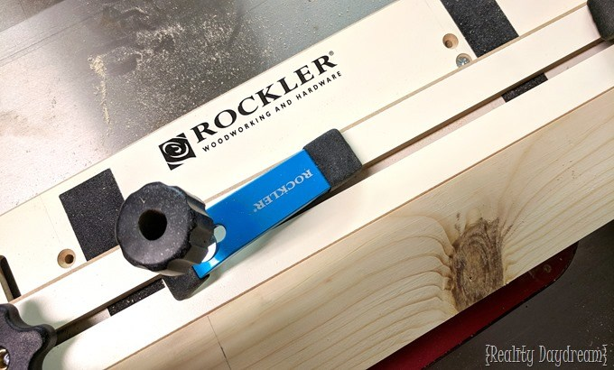 Rockler Taper Jig for making Dining Table Legs! {Reality Daydream}