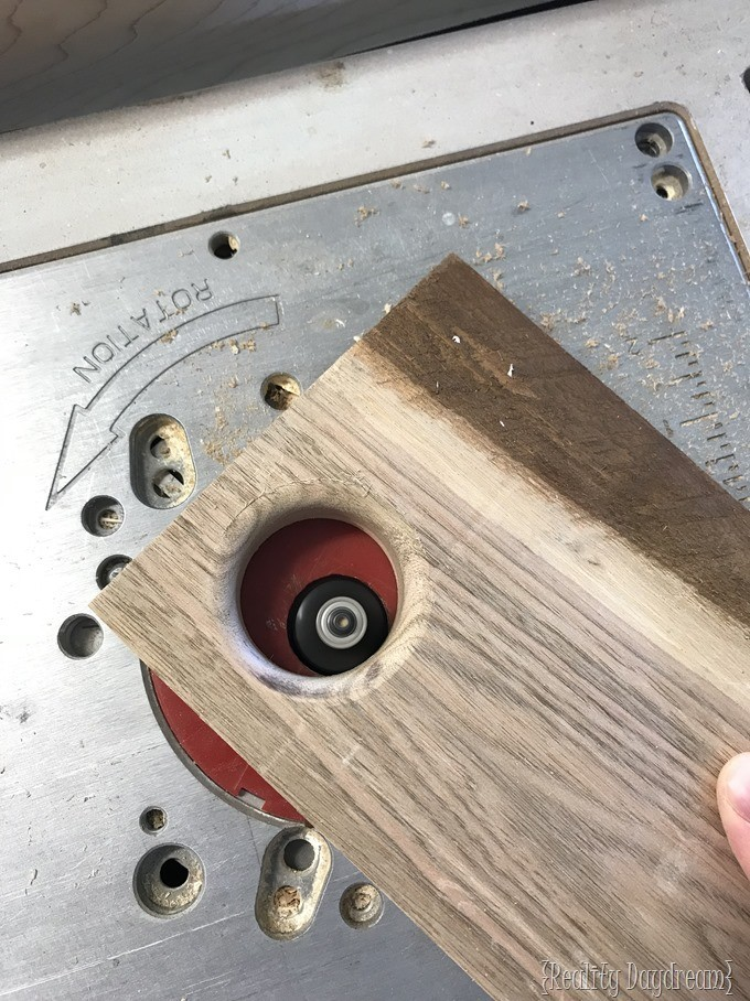 Routing Carrying Holes {Reality Daydream}
