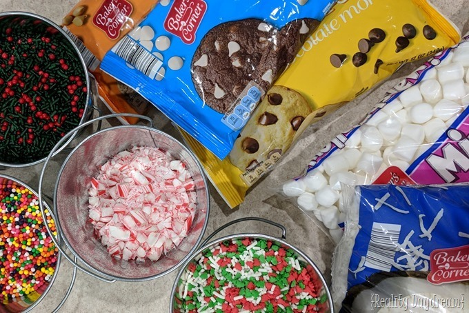 So many toppings for decorating Christmas cookies! {Reality Daydream}