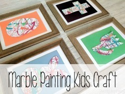 Marble Painting Kids Craft