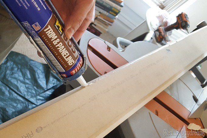 How to install chunky crown molding by layering different types of trim {Reality Daydream}