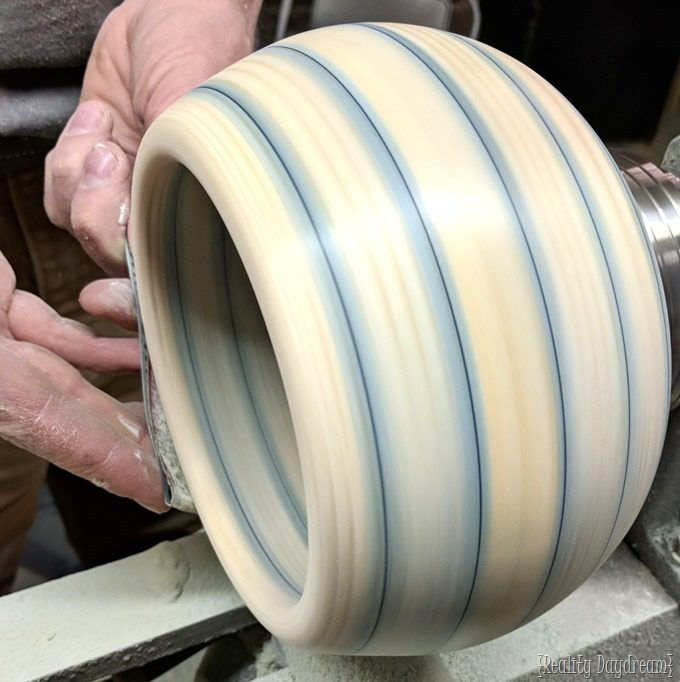 How to make a bowl on a lathe with your own turning blank and dyed wood {Reality Daydream}