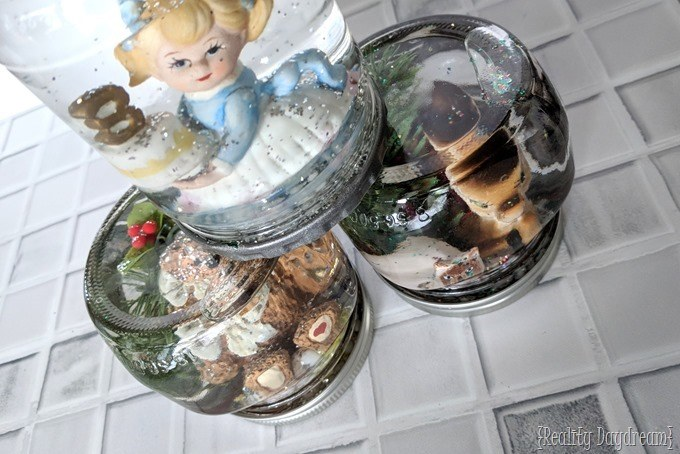How to make snow globes at home! {Reality Daydream}