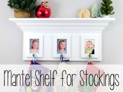 Mantel Shelf for Stockings