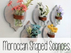 Moroccan Shaped Sconces