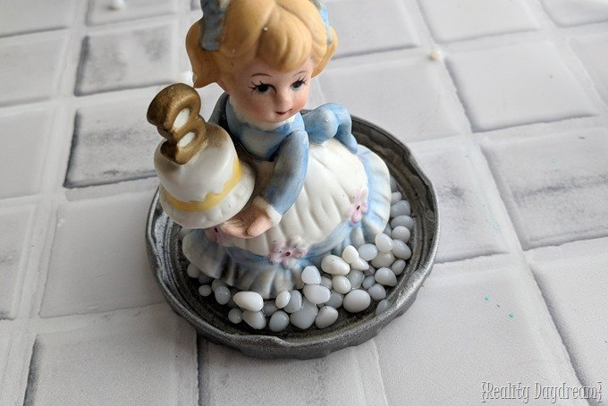Recycle old figurines into DIY Snow Globes! Such a fun kids craft too! {Reality Daydream}