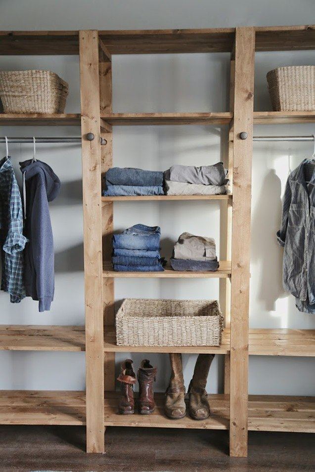 Closet Shelving and Closet Organizers - so many ideas! {Reality Daydream}