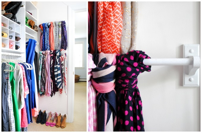 Ideas for organizing and maximizing your closet {Reality Daydream}