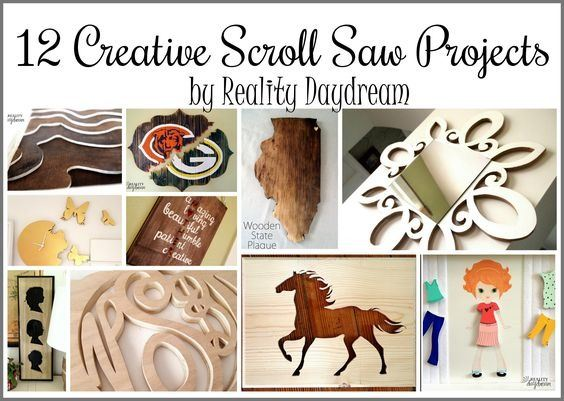 Tons of creative scroll saw projects for any skill level! {Reality Daydream}