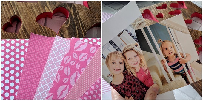 Valentine's craft idea using heart shapes cut with a scroll saw {Reality Daydream}