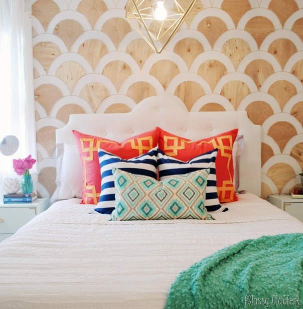 DIY Tufted Upholstered Headboard for Kids - Tons of ideas!