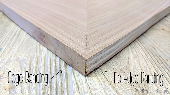How and why to apply edge banding {Reality Daydream}