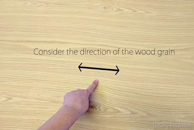 Use the direction of the wood grain to make a leaf shaped nesting tables or coffee table {Reality Daydream}