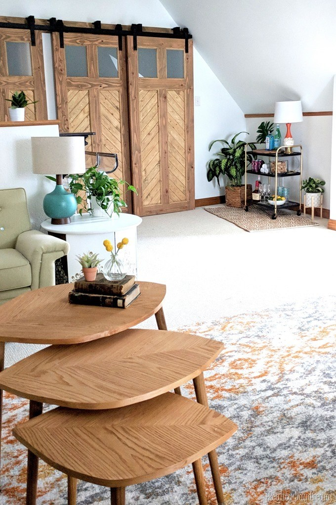 Attic family room by reality daydream and modsy