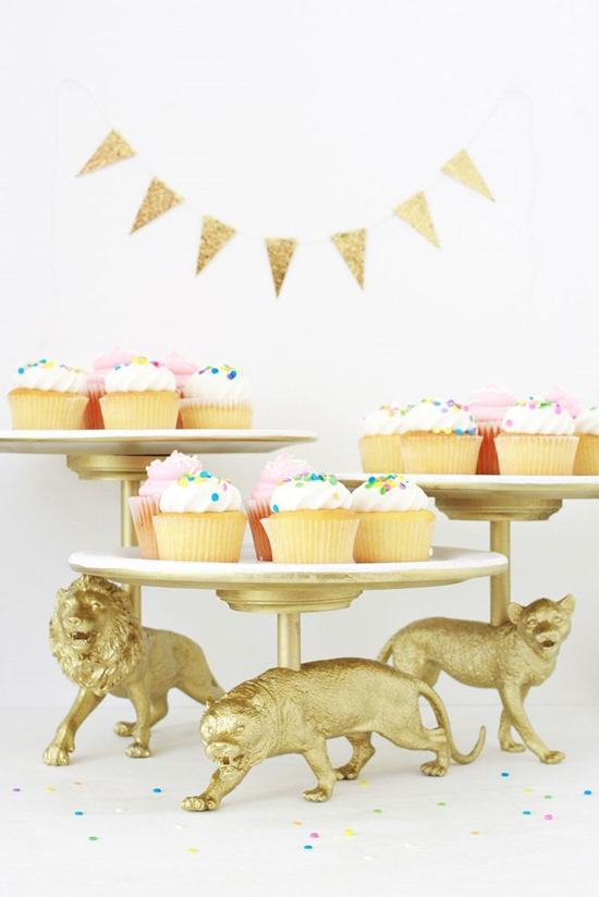 Creative and Quirky DIY Cake Stands