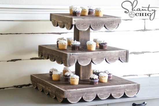 DIY Cake Stand Ideas