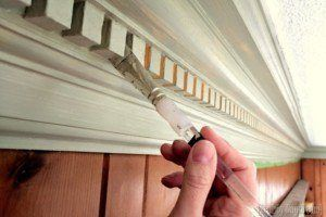 Tips for painting trim and around window panes!