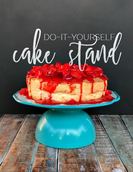 Simple and Brilliant DIY Cake Stands and Cupcake Stands