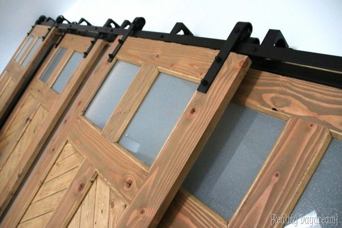 Sliding barn door hardware {Reality Daydream}