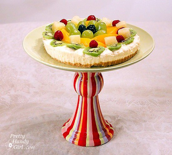 Tons of ideas for DIY Cake Stands