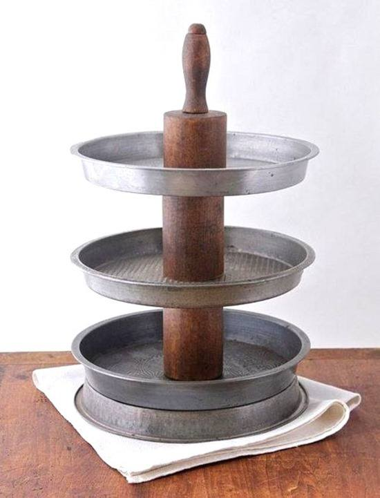 Unique and Brilliant DIY Cake Stands and Dessert Stands