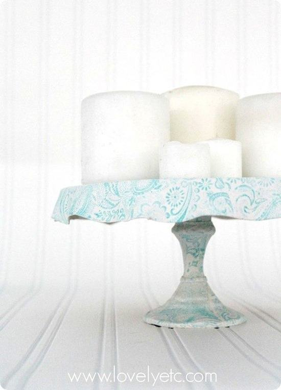 Unique and Simple DIY Cake Stands and Dessert Stands