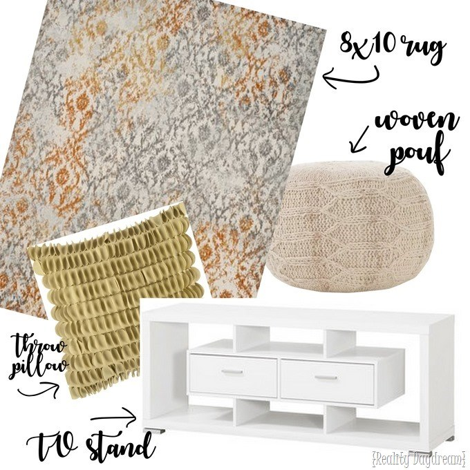 Wayfair Haul for our Attic Family Room {Reality Daydream}