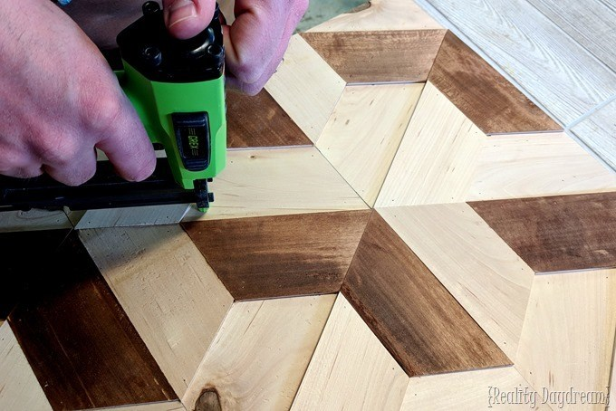 Wood and Mirror Geometric 3d Wall Art! {Reality Daydream}