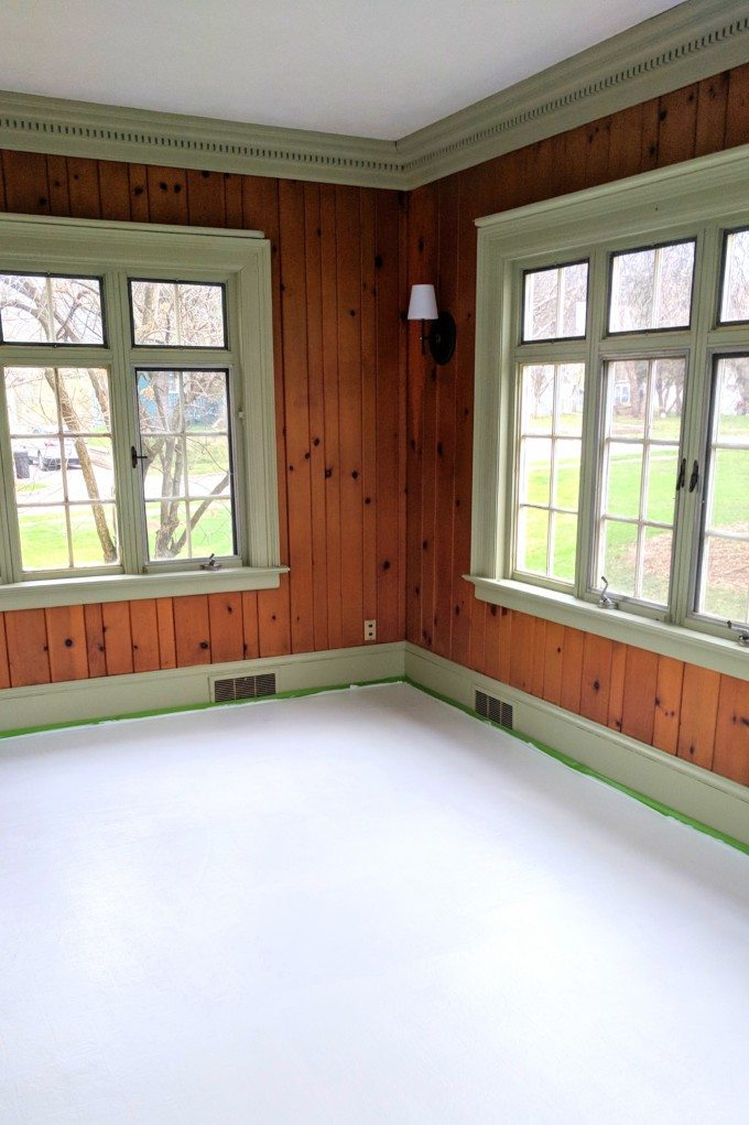 Painting Linoleum Floors The Right Way And What Supplies