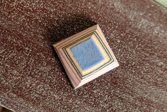 DIY jewelry square