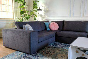 Living Room Updates – Wall Paint and Modular Sectional