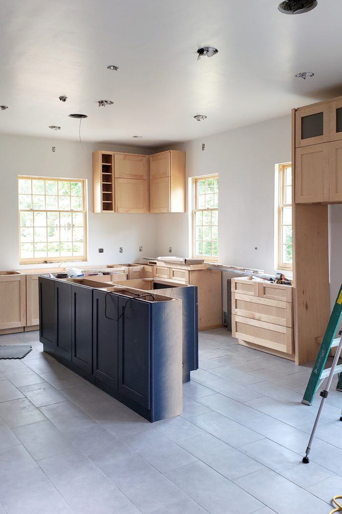 Kitchen Update - Floors and Cabinets! - Reality Daydream