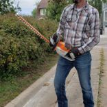 Curb Appeal Efforts: STIHL Hedge Trimmer Review