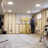 Basement Family Room – Insulation