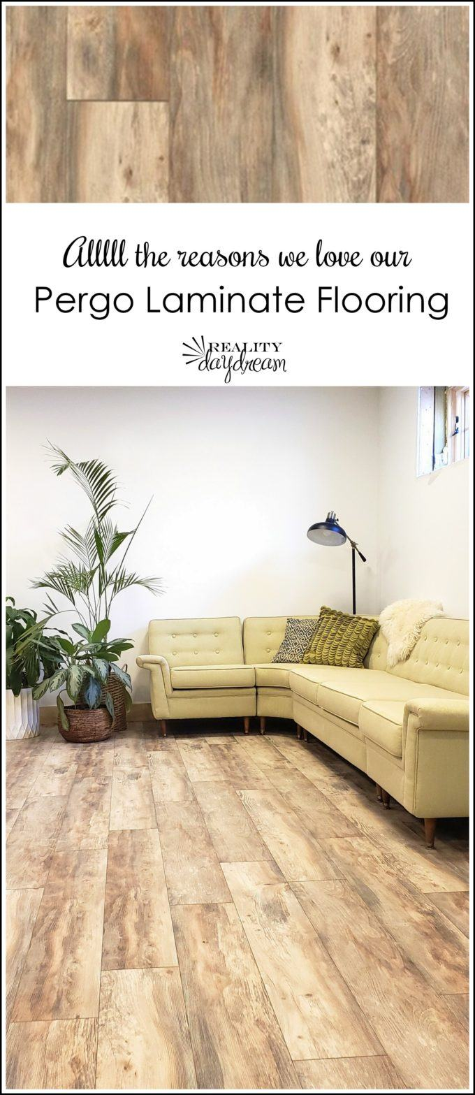 #sponsored These Pergo floors are durable, waterproof AND beautiful! Come on over to see all the reasons why. #pergo #pergoflooring