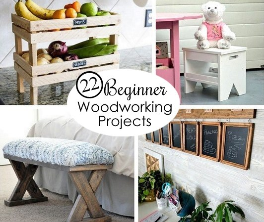 22 Insanely Simple Beginner Woodworking Projects Reality Daydream