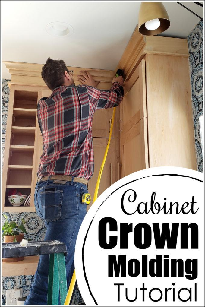 Kitchen Cabinet Crown Molding Reality Daydream